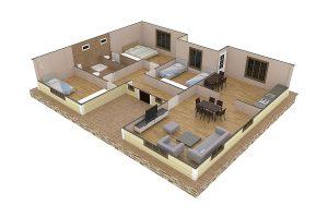 ساخت خانه های ارزان قیمت